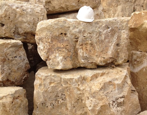 Rustic Limestone Boulders